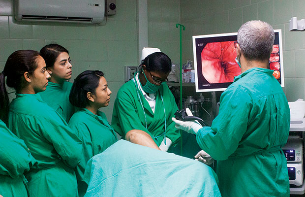 Cuban Institute of Gastroenterology: Excellence in Medical Care and Professional Training